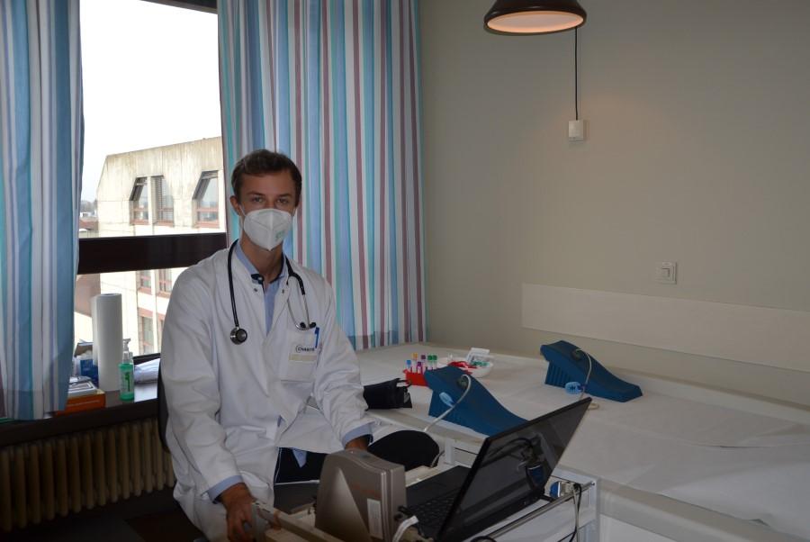 Auf dem Höhepunkt der COVID-19-Pandemie forschen – LVS-Stipendiat, Milan Haffke, berichtet